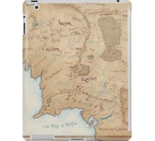 Map of Middle Earth iPad Case/Skin