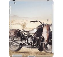 Military Motorcycle iPad Case/Skin