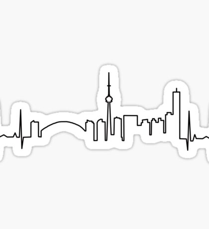 Toronto Heartbeat Sticker
