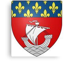 Lesser Coat of Arms of Paris Canvas Print