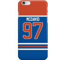 Oilers Conner McDavid Jersey iPhone Case/Skin