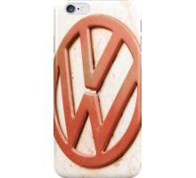 VW Camper Van Badge iPhone Case/Skin