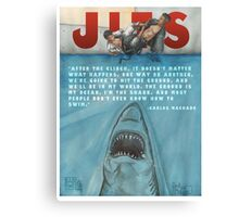 JITS - Mat is Ocean - TITLE AND QUOTE Canvas Print