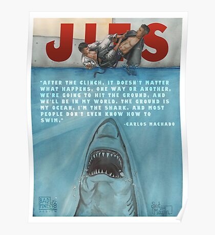 JITS - Mat is Ocean - TITLE AND QUOTE Poster