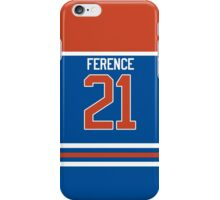 Oilers Andrew Ference Jersey iPhone Case/Skin