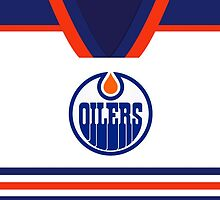 Oilers Away Jersey by jdsmdlo