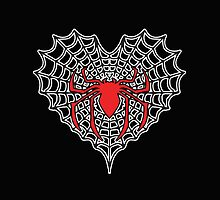 Spider Heart  by yaneris