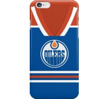 Oilers Jersey - Front iPhone Case/Skin