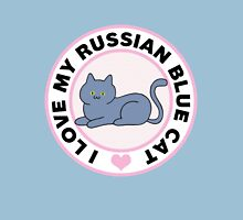 Russian Blue Cat Lover T-Shirts Womens Fitted T-Shirt