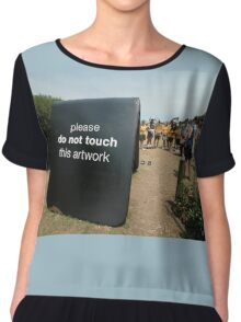 Do Not Touch @ Sculptures By The Sea Chiffon Top