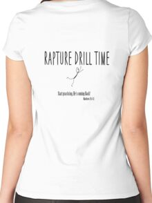 Rapture Drill Time Women's Fitted Scoop T-Shirt
