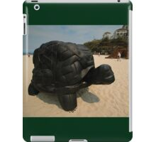 Rubber Tyre Tortoise @ Sculptures By The Sea iPad Case/Skin