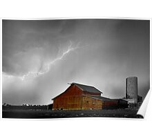Watching The Storm From The Farm BWSC Poster