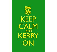Keep Calm & Kerry On (clean) Photographic Print