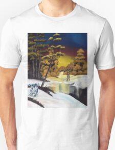 Golden Sunset Unisex T-Shirt