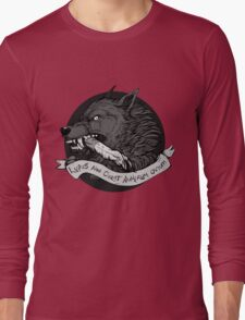Lupus Black Long Sleeve T-Shirt