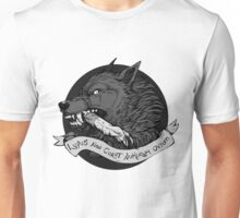 Lupus Black Unisex T-Shirt