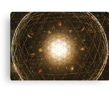 Light Sphere Canvas Print