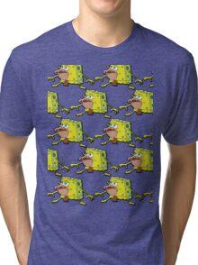 Spongegar/Primitive Sponge Tri-blend T-Shirt