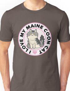 Maine Coon Cat T-Shirts Unisex T-Shirt