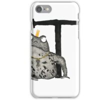 T is for Toad iPhone Case/Skin