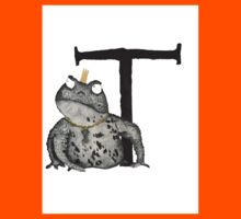 T is for Toad Kids Tee