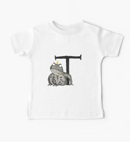 T is for Toad Baby Tee