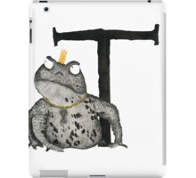 T is for Toad iPad Case/Skin