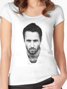 Alex O'Loughlin Women's Fitted Scoop T-Shirt