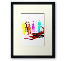 Reservoir Pigs (PC Colour) Framed Print
