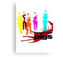 Reservoir Pigs (PC Colour) Canvas Print