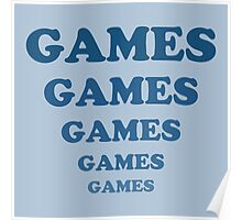 Games Games Games Games Games Poster