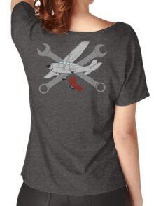 GA Aviation Mechanic Women's Relaxed Fit T-Shirt