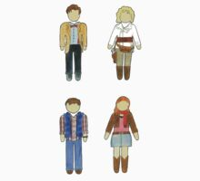 Doctor Who 11 Characters - Set #2 by RiverbyNight