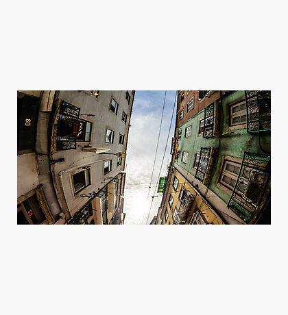 Lisbon Streets Photographic Print