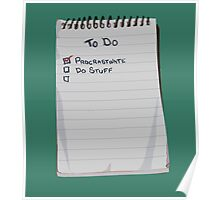 Todo List Poster