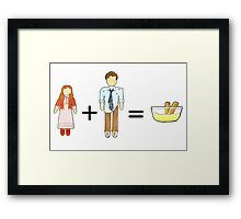 Who Math #3 Framed Print