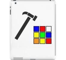 Rubik's Cube Solved iPad Case/Skin