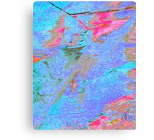 Pastel Ripples Canvas Print
