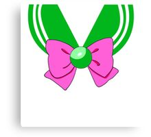Sailor Jupiter bow Canvas Print