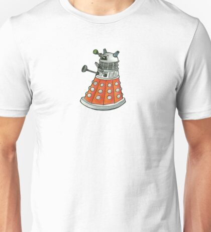 Red Dalek Unisex T-Shirt