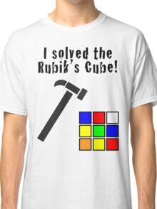I Solved the Rubik's Cube Classic T-Shirt