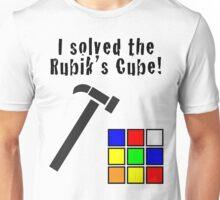 I Solved the Rubik's Cube Unisex T-Shirt