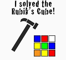 I Solved the Rubik's Cube Unisex T-Shirt
