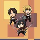 Team Eren Go! by t3hb33