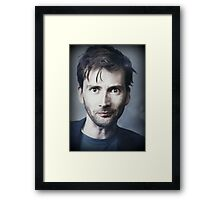 David Tennant Framed Print