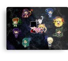 Sailor Moonies Metal Print