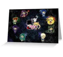 Sailor Moonies Greeting Card