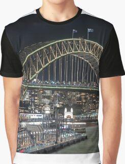 Harbour Bridge 1 Vivid 2016 Graphic T-Shirt
