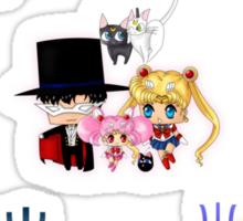Sailor Moonies Sticker